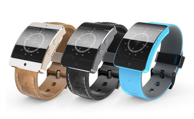 iWatch concept by Dutch designer Martin Hajek.
